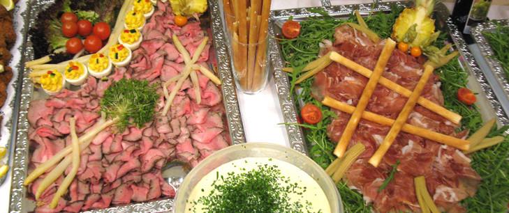 Fleisch-Buffet