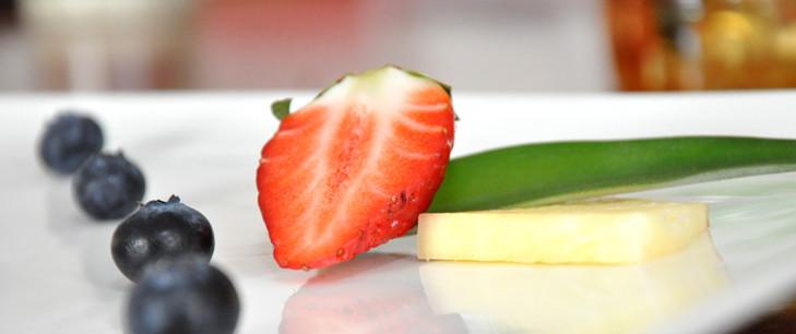 Schlemmerein mit frischen Früchten