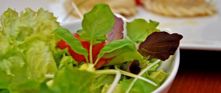 Frische Zutaten für gesunde Speisen