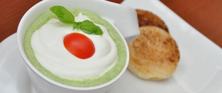 Schaumsüppchen vom Zucchini